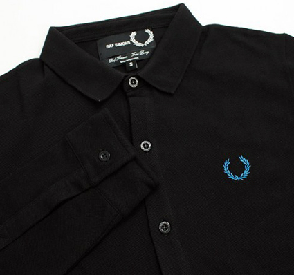 Fred Perry x Raf Simmons Long Sleeve Polo Detail