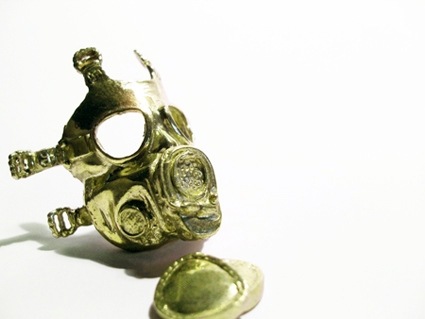 Mathmatiks - Zombie Collection 2008 - Gas Mask Removable Pieces