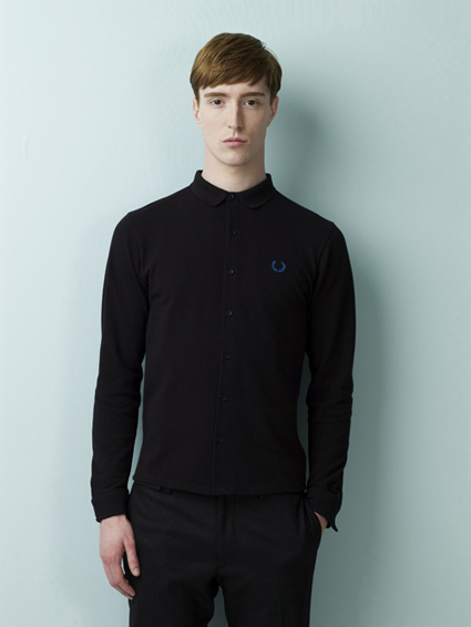 Fred Perry x Raf Simmons Look 1