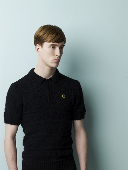 Fred Perry x Raf Simmons Look 2