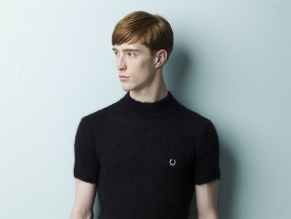 Fred Perry x Raf Simmons Look 3