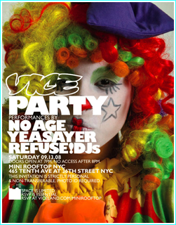 Vice Clown Party RSVP Is Closed